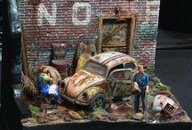 Cool Model Car Dioramas