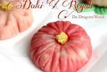 Wagashi Dolci X Regali da Dragons Wood / Japanese traditional sweet. My own practice
