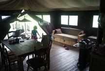 Un lit au pré - Glamping en famille en France / #unlitaupre Glamping dans une ferme bretonne