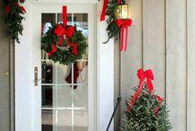 Uși de intrare Crăciun