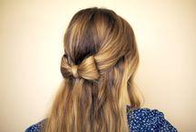 HAIR Bow / One step farther than a hair bow is an actual HAIR bow!