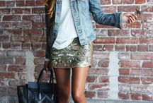 sequined up