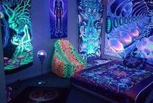 trippy rooms / Can you see the colors??? Everything is so trippyyyy