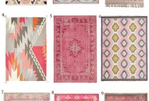 Cute Rugs for the House / Cute rug ideas for any home.