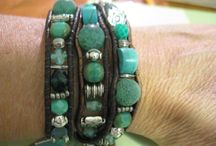 Leather Wrap Bracelets and Cuffs / by Kathryn Poorman