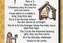 Kids Themes : Christmas Nativity