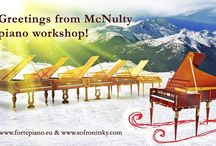 Greeting from McNulty piano workshop!