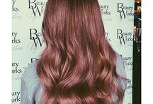 Ruusukulta / Hiukset, väri