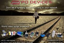Ads & Information / PD Devices Surge Protection Ads & Information: Learn more on surge protection visit: www.pddevices.co.uk