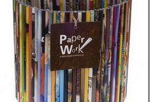 reciclando papel / by Cris Salcedo