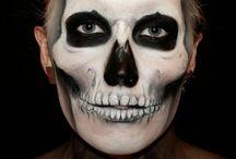 Zombie & skulls facepaint