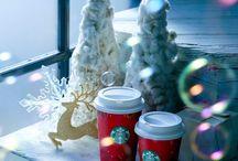 Starbucks Holidays / スターバックスのホリデーシーズン。レッドカップが登場。
