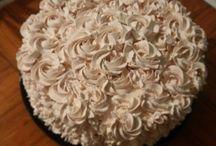Tortas crema, cakes