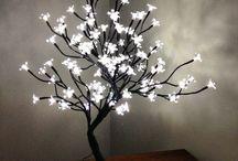 Acrylic flower Lamps