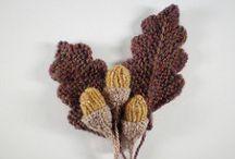 knitting leaves free pattern