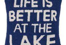 Lake House Pillows