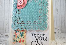 Thank You Cards / Thank you cards, tutorials and tricks for making thank you cards. / by Top Dog Dies