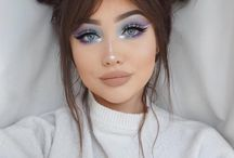 Fun Makeup and Hair Ideas / Fun makeup ideas for your illustrations, your design projects, your face!