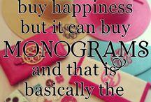 Monograms!
