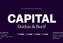 Capital Type Family