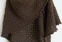 Crochet, shawles