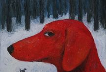 Dog / Art / Painting / Artworks