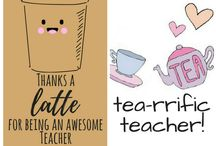 Cards for teachers