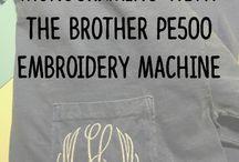 Brother PE500 Machine