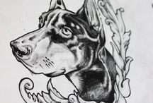 Tattoo sketch by Master Mary Cherry