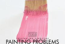 Painting Tips / Painting tips to help the typical DIY people or professional painters be successful / by Jennifer Allwood- The Magic Brush