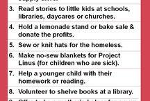 volunteering ideas