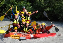 Swiss rivers / Whitewater rafting is the main goal, but would compromise with any canoe or kayak