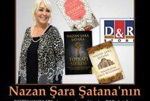 Nazan Şara Şatana Araştırmacı gazeteci, yazar, senarist, televizyoncu, ressam, şair, söz yazarı