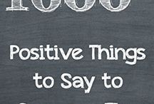 Positive Things to Say to Someone Else - Lisa Rusczyk / Available on Amazon : http://amzn.to/2isJMAM