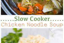 Slow Cooker Recipes / Soups,chicken,beef