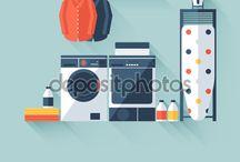 vector - lave-linge