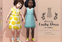 My The sims 4 CC (Toddlers)