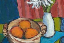 bowl of oranges - painting inspiration