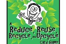 Recycle Repurpose Reuse / Help keep our carbon footprint from getting any bigger.  Do your best to repurpose and reuse everything.   By doing this it also prevents landfills from getting any bigger or new land fills being developed.    / by Denise Reader Balderama
