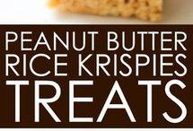 Peanut and rice crispy cookies