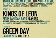 Music Festivals / Music Festivals that I assist / by Luisen Ramos