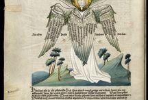 Illuminated manuscript, miniature, marginalia. / by maius_maius