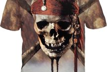 Dead Men Tell No Tales! BROWN SKULLY PIRATE..