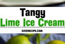 Ice cream recipes