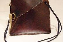 Leather Bags, Pouches and more / by Sharon Gowryluk