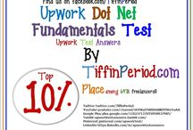 Dot Net Fundamentals Test 2016 – Upwork Test Answers / Till 25 March 2016, this Upwork Dot Net Fundamentals Test attended by 6,967 freelancers and total 3,136 freelancers qualified it. Please Try to review each questions and answers properly. Take your time. Maybe you can have Top 10% Result in Upwork Dot Net Fundamentals Test. Do you need prove? watch Upwork Dot Net Fundamentals Test video http://adf.ly/1Ykqup (Top 10% Result– Rank 203rd out of 6978 test taker)