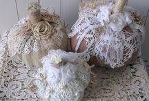 Pompoenen :) / I Heart Shabby Chic: Shabby Chic Halloween Pumpkins Pompoen Pumpkin
