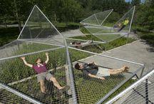 Urban fritid / ting å gjøre i det offentlige rom
