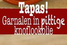 garnalen in knoflookolijfolie