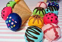 felt foods - pinkkittyprincess